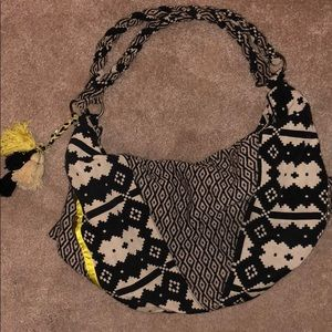 Slouchy Aztec Printed Purse